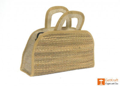 Jute Natural Straw Handbag(#457)-gallery-0
