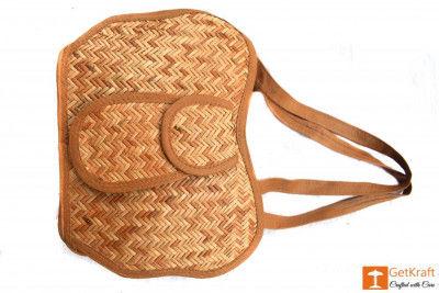 Sitalpati Medium-sized Handmade Bag(#483)-gallery-0