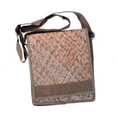 Sitalpati Handmade Sidebag with long handle(#487)-gallery-0