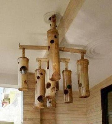 Bamboo Lamp(#490)-gallery-0