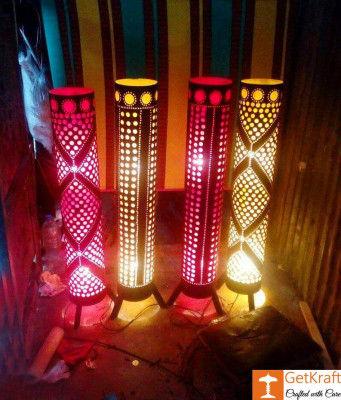 Bamboo Lamp(#493)-gallery-0