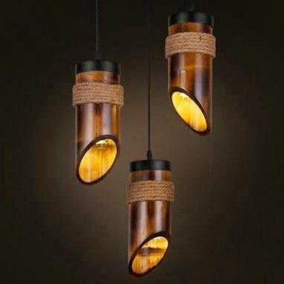Bamboo Lamp(#494)-gallery-0