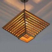 Attractive Bamboo Roof Hanging Lamp(#508) - Getkraft.com