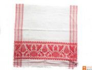 Traditional Handmade Assamese Gamosa(#550) - Getkraft.com