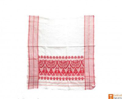 Handcrafted Assamese Gamosa(#552)-gallery-0