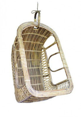 Premium Quality Cane Hanging Chair(#558)-gallery-0