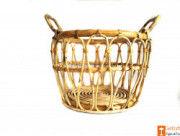 Multipurpose Cane Basket - Laundry Basket - Home Decor Basket(#610) - Getkraft.com