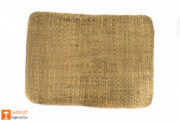 Material Natural Straw Mat with round ends(#630) - Getkraft.com