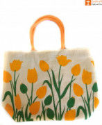 Multipurpose Eco-friendly Jute Bag (Multicolored)(#655) - Getkraft.com