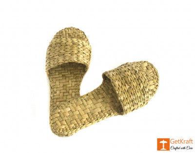 Handmade Unique Kauna Slip-on Slippers (Unisex)(#668)-gallery-0