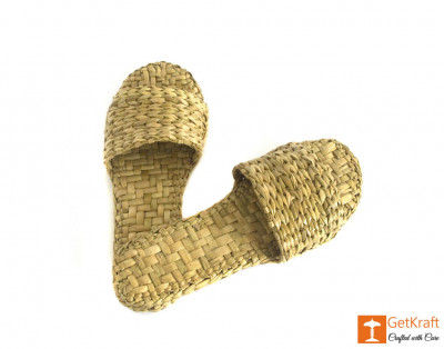 Handmade Unique Kauna Slip-on Slippers (Unisex)(#669)-gallery-0