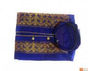 Mens Designer Handmade Kurta 100 Pure Silk(#713) - Getkraft.com