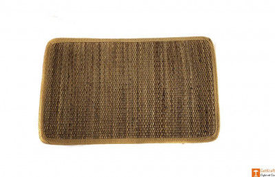 Natural Straw Table Mats for Dining or Office Desk(Set of 4)(#717)-gallery-0