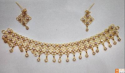 Stylish Designer Golpota Necklace Jewellery Set for Women(#741)-gallery-0