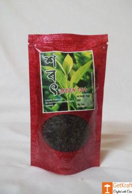 Assam Green Tea(#746)-gallery-0