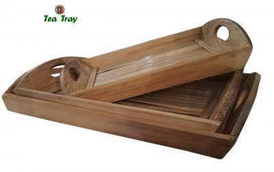 Bamboo Tea Trays Big - Medium - Small by DB Industries(#762)-gallery-0