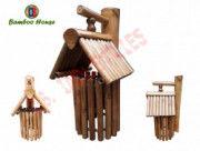 Bamboo House made in Assam Home Decor Bamboo Craftwork(#768) - Getkraft.com