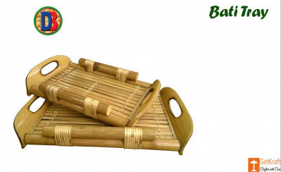 Bamboo Serving Kitchen Tray by DB(#775)-gallery-0