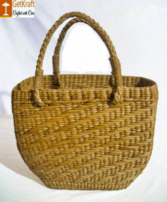 Natural Straw Shopping Bag For Women(#798)-gallery-0
