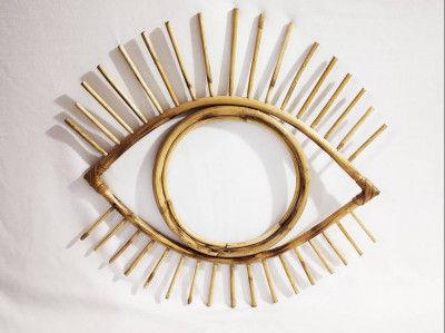 Eye Shaped Mirror Frame(#802)-gallery-0