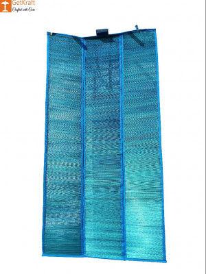 Handicraft Multipurpose Three-fold Elephant Grass Mat(#811)-gallery-0