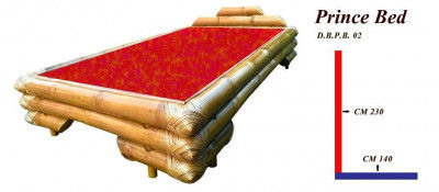 Bamboo Double Bed by DB(#865)-gallery-0