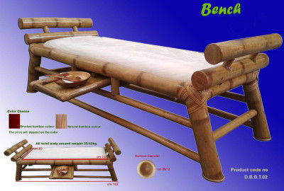 Bamboo Bench(#868)-gallery-0