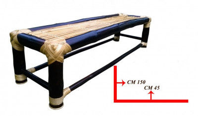 Bamboo Bench(#869)-gallery-0