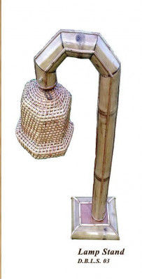 Handcrafted Bamboo Desk Lamp(#872)-gallery-0