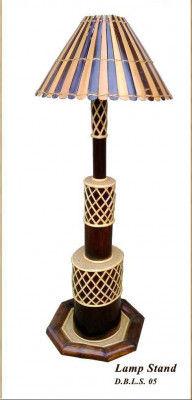 Bamboo Handicraft Lampshade(#874)-gallery-0