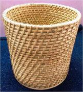 Simple Cane Rattan Basket Planter(#876) - Getkraft.com