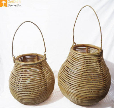 Cane Multipurpose Matka Basket(#889)-gallery-0