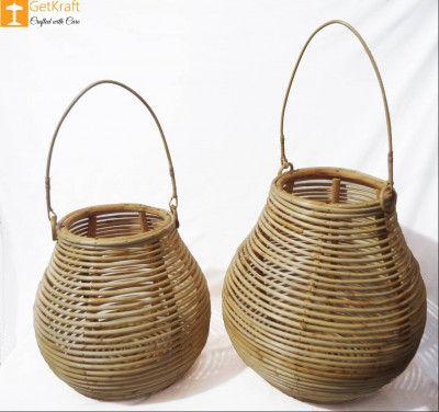 Cane Multipurpose Matka Basket(#890)-gallery-0