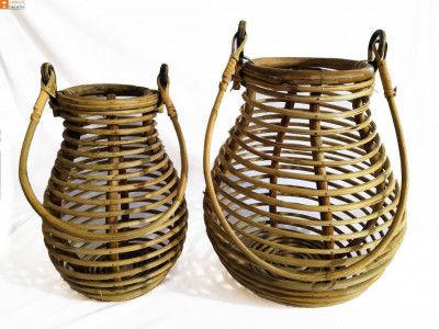 Multipurpose Cane Matka Basket(#891)-gallery-0