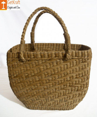 Natural Straw Shopping Bag For Women(#893)-gallery-0