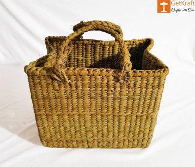 Natural Straw Multipurpose Bag(#895)-gallery-0
