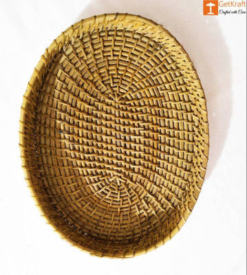 Oval Cane Tray(#897)-gallery-0