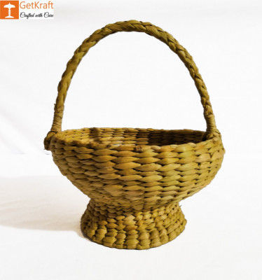 Kauna Handmade Small Basket 7x12 cm(#898)-gallery-0