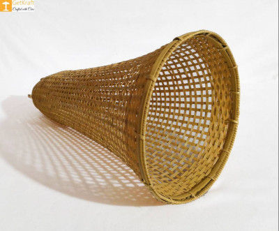 Bamboo Conical Handicraft Lampshade(#901)-gallery-0