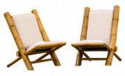 Outdoor Garden Lawn Backyard Bamboo Chair(#904) - Getkraft.com