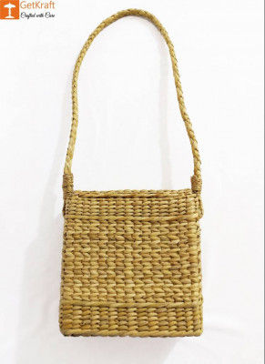Natural Straw Sling Bag for Women(#981)-gallery-0