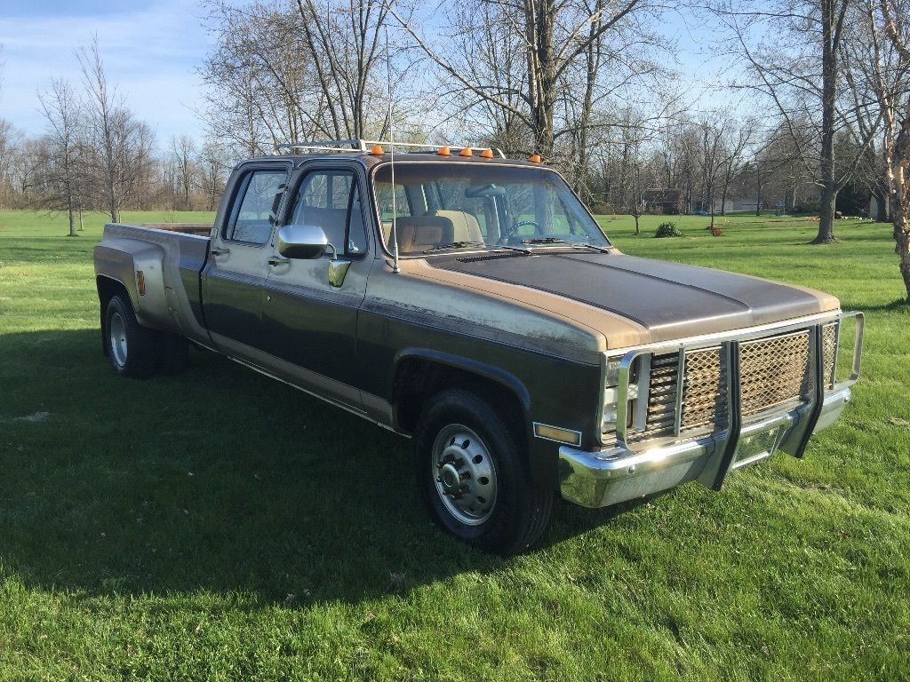 1986 Chevy 3500 Dually