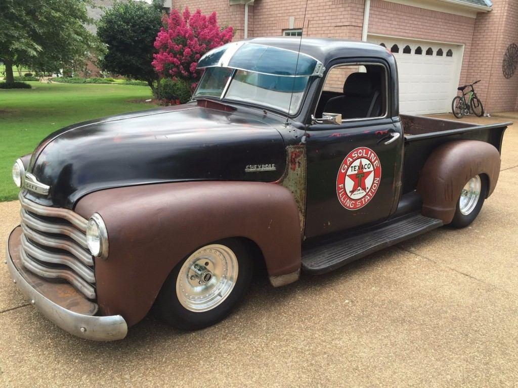 1951 Chevrolet 3100 Pickup Shop Truck Patina