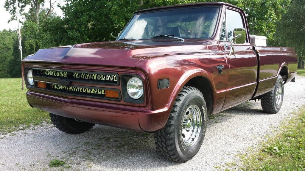 1968 Chevrolet C-10 Long Bed Pickup Truck