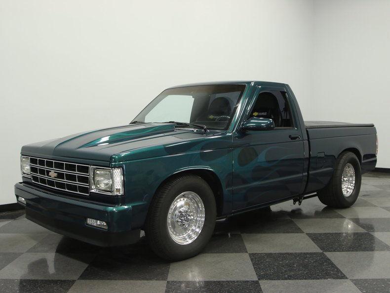 1989 Chevrolet S 10 custom pickup