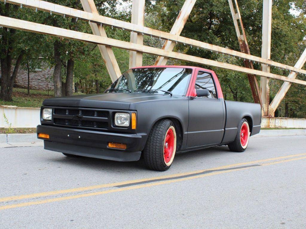 completely redone 1989 Chevrolet S 10 Custom