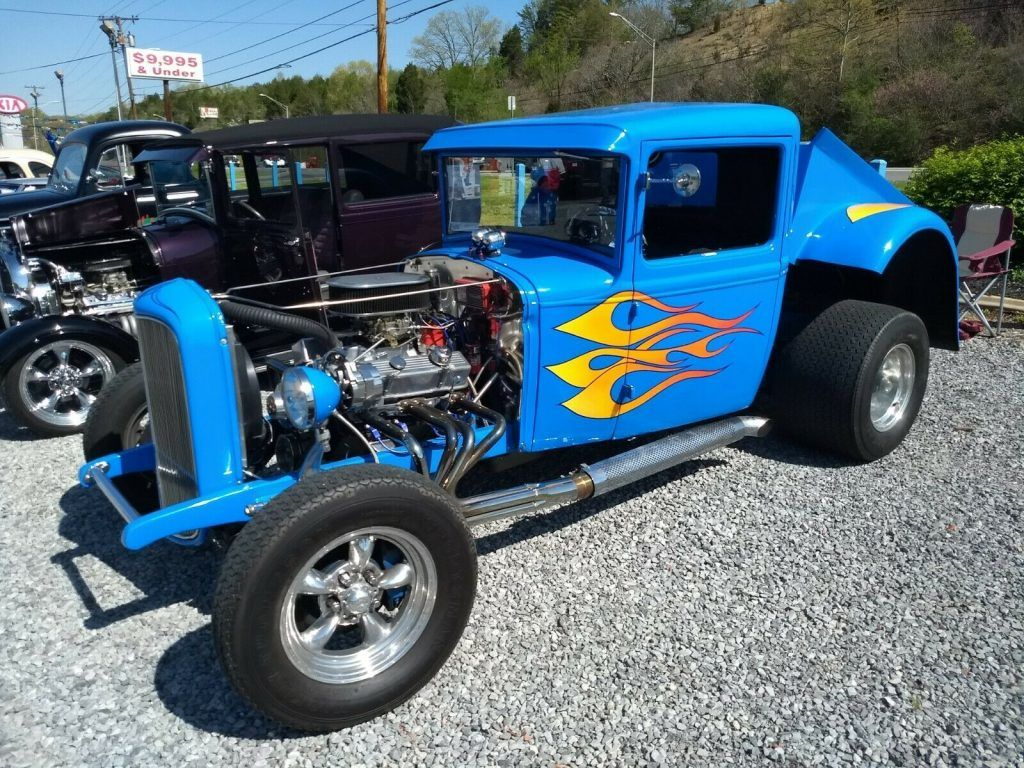 well modified 1931 Ford Model A custom