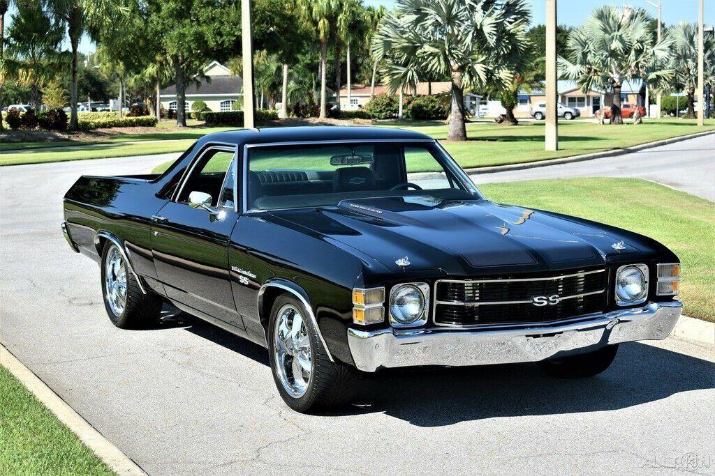 vintage 1971 Chevrolet El Camino custom