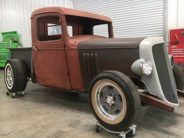 project 1935 Chevrolet Pickup custom