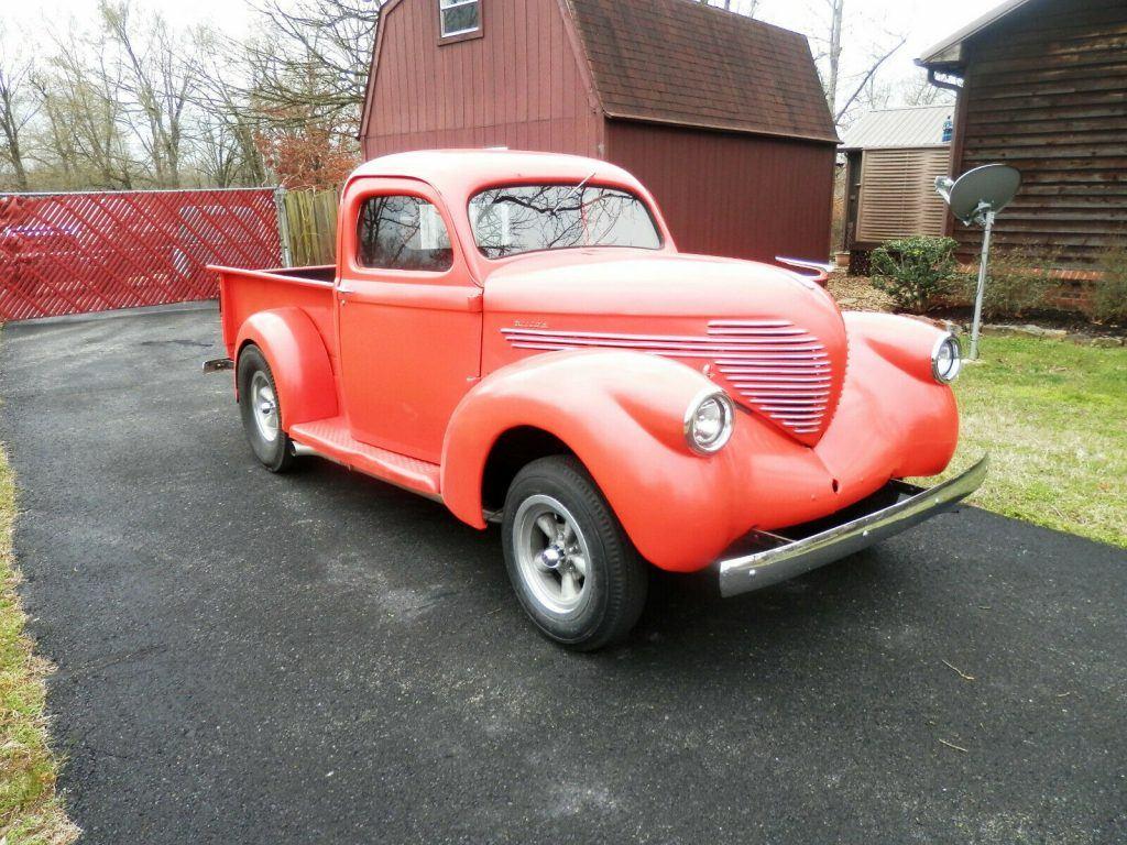 very nice 1937 Willys pickup Custom